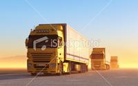 Convoy of Trucks